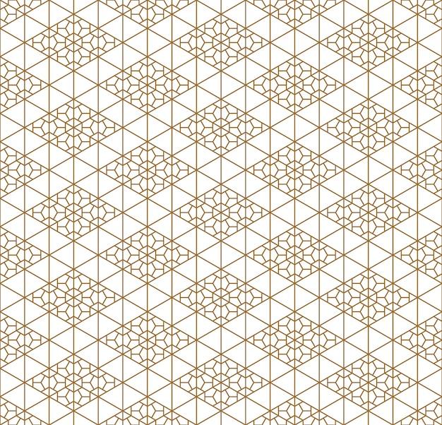 Nahtloses geometrisches muster