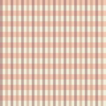 Nahtloses gingham-karomuster cottagecore pastellfarben weißer hintergrund stoffmaterial