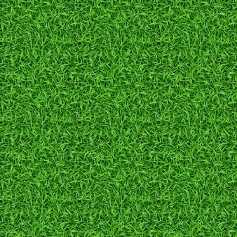 Nahtloses grünes grasmuster Kostenlosen Vektoren
