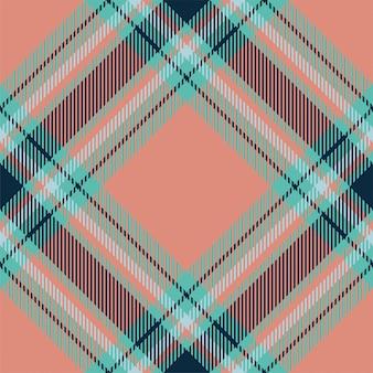 Nahtloses karomuster aus tartan-schottland. quadratische geometrische textur der weinleseprüfungfarbe.