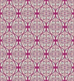 Nahtloses lila türkisfarbenes muster