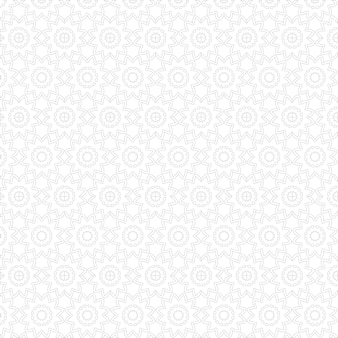 Nahtloses luxus-mandala-muster