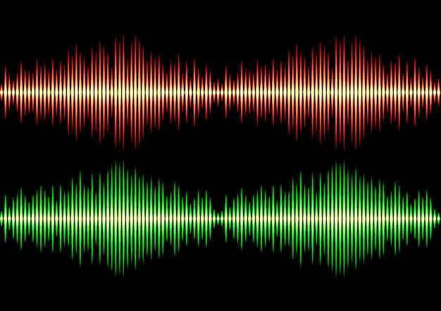Nahtloses musikwellenmuster