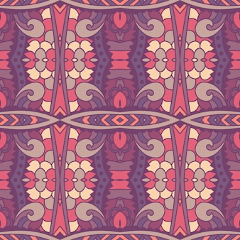 Nahtloses muster afrikanische kunst batik ikat.
