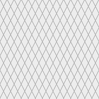Nahtloses muster aus kleinen rauten in grauen farben