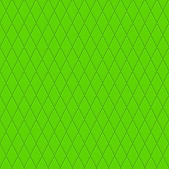 Nahtloses muster aus kleinen rauten in grünen farben