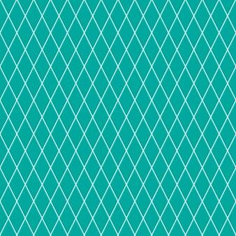 Nahtloses muster aus kleinen rauten in türkisfarben