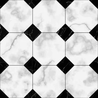 Nahtloses muster aus marmorkaro