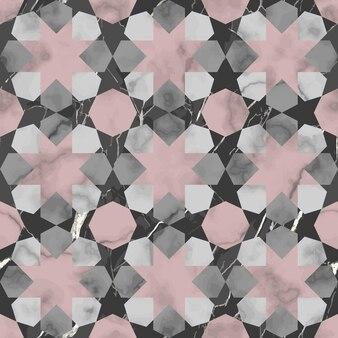Nahtloses muster aus orientalischem marmor wiederholen sie den hintergrund für tapetentextilien und innendruck