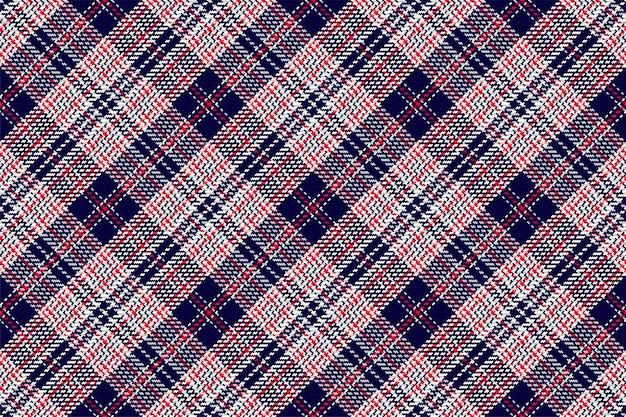 Nahtloses muster aus schottischem tartan-plaid. überprüfen sie die stoffstruktur.