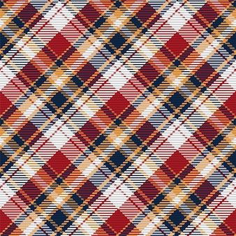 Nahtloses muster aus schottischem tartan-plaid.