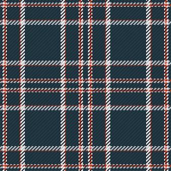 Nahtloses muster aus schottischem tartan-plaid
