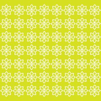 Nahtloses muster blattgrün vektorbild