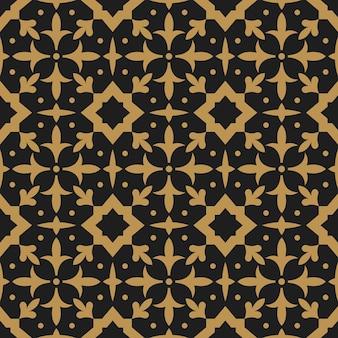 Nahtloses muster der arabischen orientalischen abstrakten arabeske für ramadan kareem