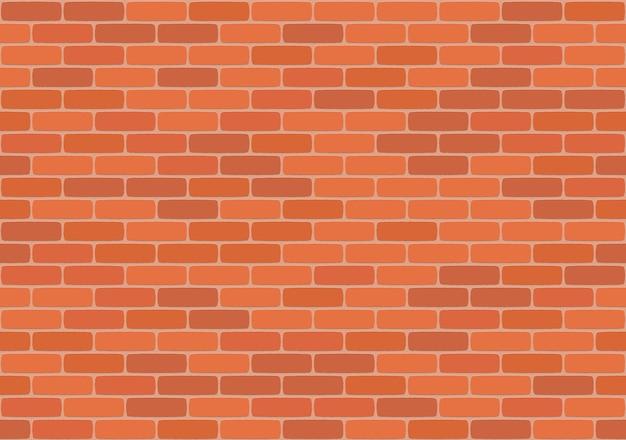 Nahtloses muster der braunen backsteinmauer