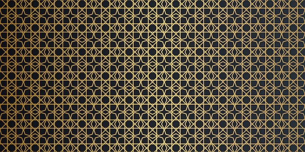 Nahtloses muster der geometrischen arabeske