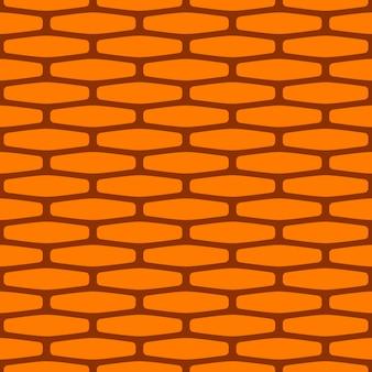 Nahtloses muster der karikaturbacksteinmauer. helle textur für spiele, webdesign, textilien, papier.