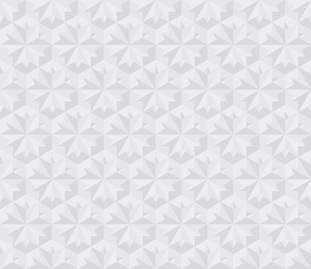 Nahtloses muster der modernen 3d-oberfläche. illustration