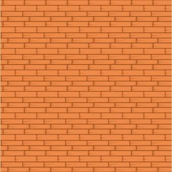Nahtloses muster der orange backsteinmauer