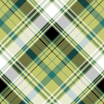 Nahtloses muster der pixelkontrollplaid-textilbeschaffenheit