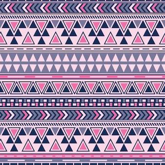 Nahtloses muster der stammes-navajo. aztekischer geometrischer druck. ethnisch