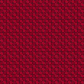 Nahtloses muster der vektorzellen. abstrakter geometrischer hintergrund