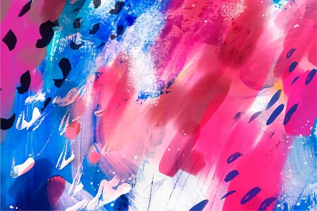 Nahtloses muster des abstrakten aquarells
