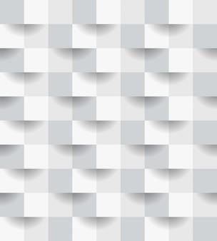 Nahtloses muster des abstrakten papierstils