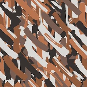 Nahtloses muster des abstrakten vektors für mädchen, jungen, kleidung. kreativer hintergrund mit punkten, geometrischen figuren. lustige tapete für textil und stoff. modestil. bunt hell.