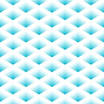 Nahtloses muster des geometrischen netzes
