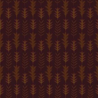 Nahtloses muster des herbstblatts
