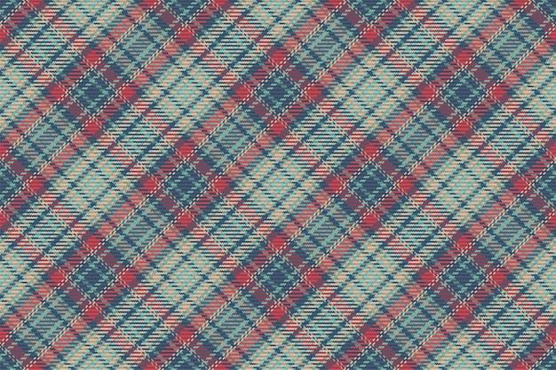 Nahtloses muster des schottischen tartan-plaids. wiederholbarer hintergrund mit check-gewebe-textur. flacher vektorhintergrund aus gestreiftem textildruck.