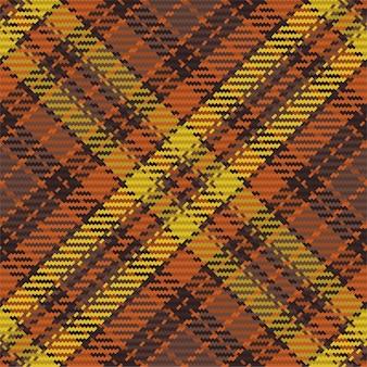 Nahtloses muster des schottischen tartan-plaids. wiederholbarer hintergrund mit check-stoff-textur. flacher vektorhintergrund aus gestreiftem textildruck.