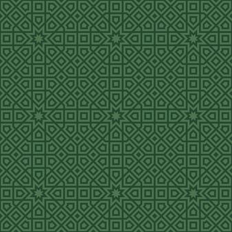 Nahtloses muster im islamischen stil.