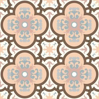 Nahtloses muster im orientalischen stil.