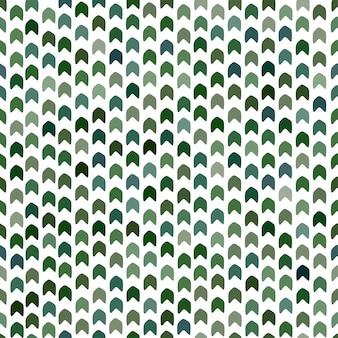 Nahtloses muster in den grünen farben. moderner tarnungsdruck. chevron-muster. khaki geometrisches design.