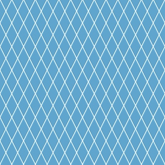 Nahtloses muster kleiner rauten in hellblauen farben
