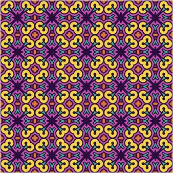 Nahtloses muster mit abstraktem stil