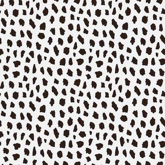 Nahtloses muster mit gepardenhaut.