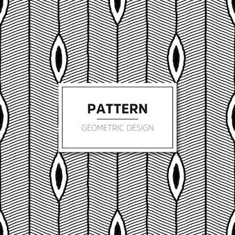 Nahtloses muster. moderne stilvolle textur mit gewellten streifen.