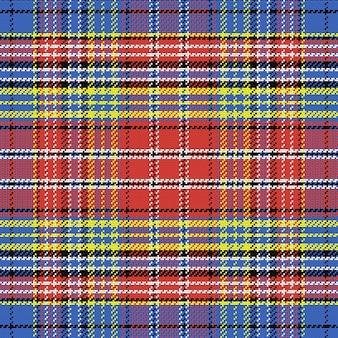 Nahtloses muster schottischer tartan