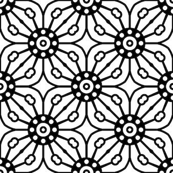 Nahtloses muster. vintage dekorative elemente