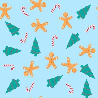 Nahtloses muster weihnachten und neujahr, digitales papier.