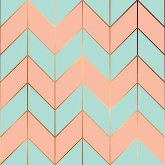 Nahtloses musterdesign mit goldenen geometrischen linien, moderner luxuriöser hintergrund