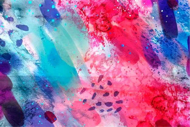 Nahtloses musterkopiefeld des abstrakten aquarells