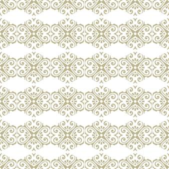 Nahtloses orientalisches und dekoratives muster im mandala-stil
