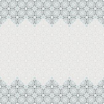 Nahtloses ornamentmuster traditionelles dekor