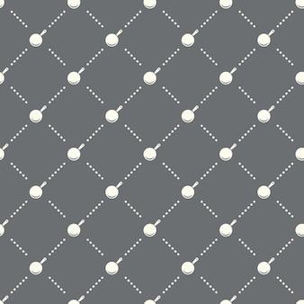 Nahtloses pfannenmuster auf dunklem hintergrund. pfannensymbol kreatives design. kann für tapeten, webseitenhintergrund, textilien, druck-ui/ux verwendet werden