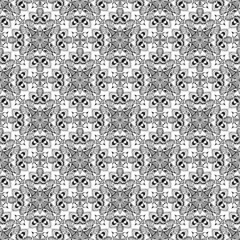 Nahtloses schwarzweiss-muster