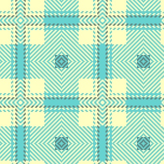 Nahtloses tartan-muster. schottisch gewebte textur.
